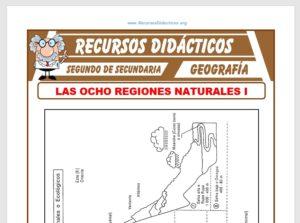 Ficha de Las Ocho Regiones Naturales para Segundo de Secundaria
