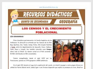Ficha de Aspectos Psico-Sociales del Perú para Quinto de Secundaria