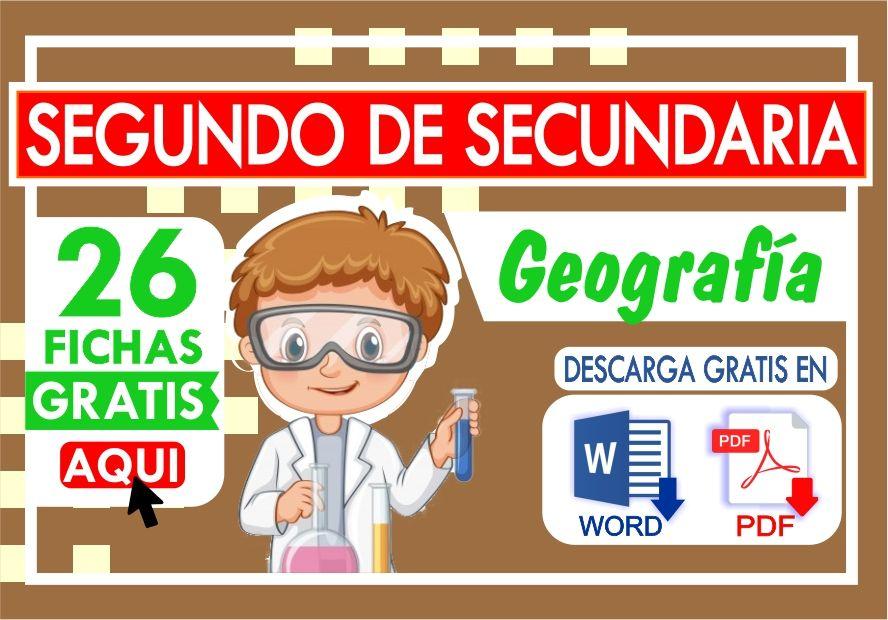 Problemas de Geografia para Segundo de Secundaria